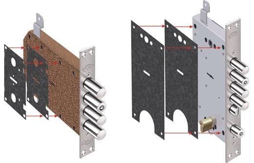 Защита замков от взлома